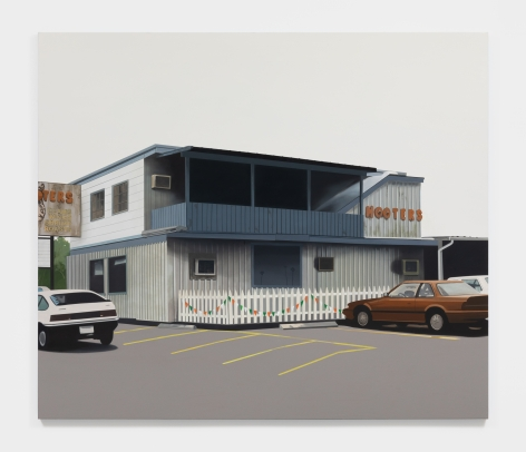 Jake Longstreth The First Hooters, 2021 Oil on canvas 72 x 84 in 182.9 x 213.4 cm (JLO21.020)
