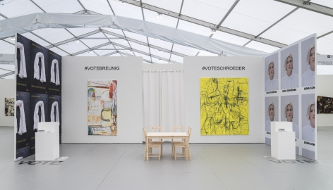 UNTITLED, ART, Miami Beach 2019, Installation view; Wide booth
