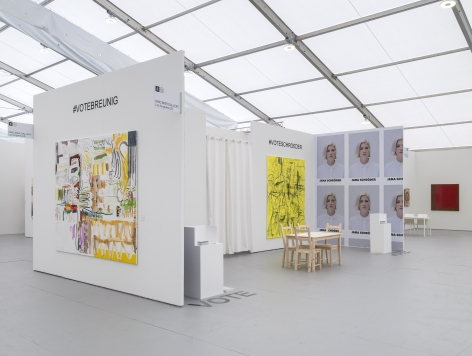 UNTITLED, ART, Miami Beach 2019, Installation view; Angled view