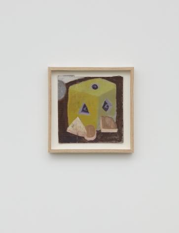 Ginny Casey, Study (Box), 2016, Oil on cardboard, 10 x 10 in (25.5 x 25.5 cm), GC16.004