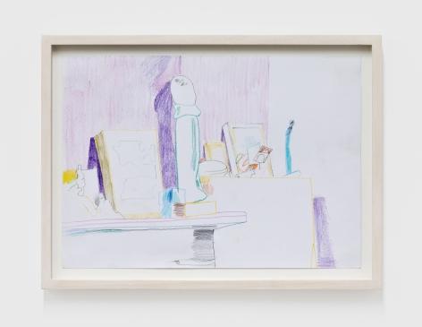 Gerlind Zeilner Brooklyn, 2020 Colored pencil on paper 8 1/4 x 11 3/4 in 21 x 30 cm (GZE20.015)