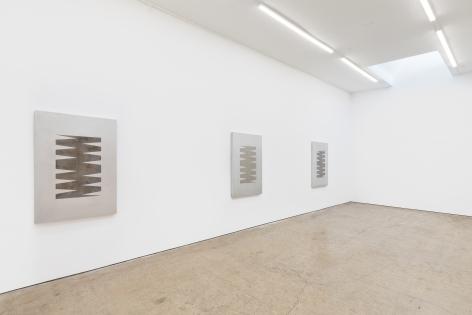 Installation View of Zak Kitnick: Shapes (January 22–February 27, 2020) Nino Mier Gallery, Los Angeles, CA 1