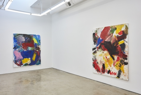 Installation view 2 of Anke Weyer: Gravity Idiot (March 5-April 16, 2016) at Nino Mier Gallery, Los Angeles