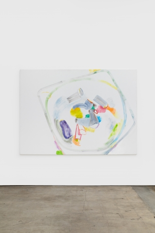 Gerlind Zeilner Tschick, 2020 Oil and egg tempera on canvas 63 x 86 5/8 in 160 x 220 cm (GZE20.019)