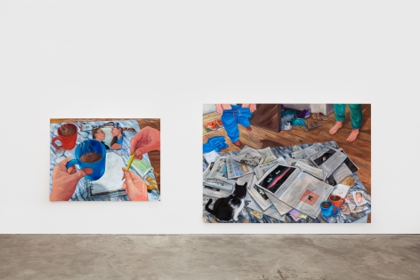 Installation View 5 of Rebecca Ness: Pieces of Mind (July 10–August 31, 2020). Nino Mier Gallery, Los Angeles, CA