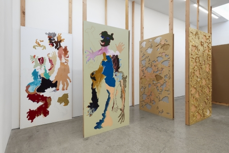 Installation View of Cindy Phenix: Particles of Abnormality (October 17–November 14, 2020). Nino Mier Gallery, Los Angeles, CA 6