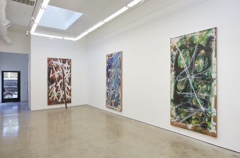 Installation View 7 of Spencer Lewis Evil Baby Bully Part Object Paintings (October 8 – November 19, 2016) Nino Mier Gallery, Los Angeles, CA