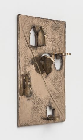 Zak Kitnick The Baby Years (Baby Shower Cookie Cutter Set - 5 Piece - Onesie, Bib, Rattle, Bottle, Baby Carriage - Anne Clark Cookie Cutters - US Tin Plated Steel), 2020 Bronze 15 x 22 in 38.1 x 55.9 cm (ZKI20.005)