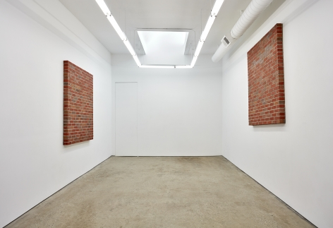 Installation View 2 of Killian Rüthemann Motion With (December 10, 2016 – March 31, 2017). Nino Mier Gallery, Los Angeles, CA