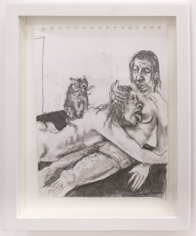 Celeste Dupuy-Spencer Come Here, Comrade (January 20, 2017), 2017 Pencil on paper 11 x 8 1/2 in 27.9 x 21.6 cm (CDS17.026)