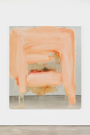 Peter Bonde UNTITLED (NUMBER TWO), 2021 Oil on mirror foil 63 x 55 1/8 in 160 x 140 cm (PB21.015)