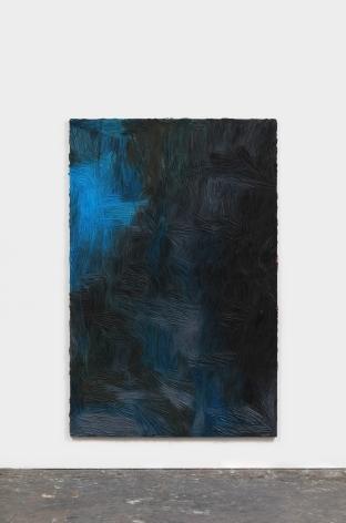 Dashiell Manley, untitled (transformation), 2021 Oil on linen 83 x 52 in 210.8 x 132.1 cm (DMA21.007)