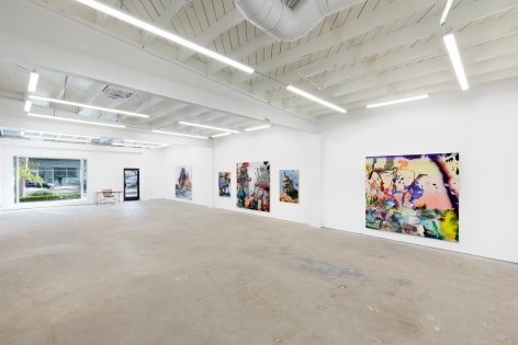 Installation View of Antwan Horfee: SCI-FRIED (April 1-May 15, 2021) Nino Mier Gallery, Los Angeles, CA