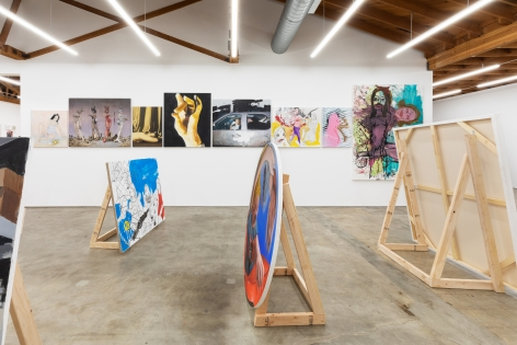 Installation view 6 of To Paint is To Love Again, Curated by Olivier Zahm (January 18-28, 2020) at Nino Mier Gallery, Los Angeles