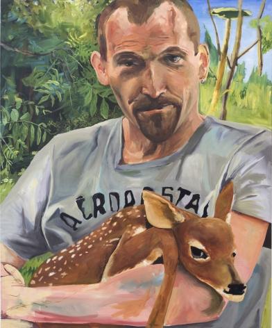 Celeste Dupuy-Spencer R. DiMeo III, 2017 Oil on canvas 60 x 48 in 152.4 x 121.9 cm (CDS17.024)
