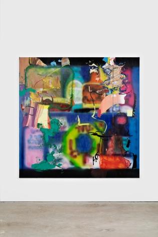 Antwan Horfee It Doesn't Grow That Way, 2021 Acrylic on canvas 78 3/4 x 78 3/4 in 200 x 200 cm (HOR21.004)