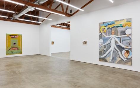 Installation 7 of Tomasz Kowalski: Release of Everlasting Somersault (November 17 - December 29, 2018), Nino Mier Gallery, Los Angeles, CA