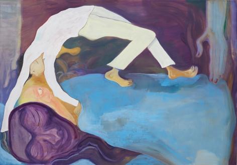 Tomasz Kowalski, Untitled, 2018, Oil on canvas, 45 1/4 x 65 in (114.9 x 165.1 cm), TKO18.029