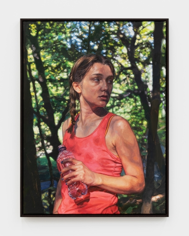 Laura Sanders By Herself, Armco Park, 2020 Oil on canvas 35 x 26 in 88.9 x 66 cm (LSA21.002)