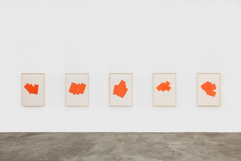 Installation view 3 of Imi Knoebel: Works from the Seventies (November 9-December 21, 2019) at Nino Mier Gallery, Los Angeles