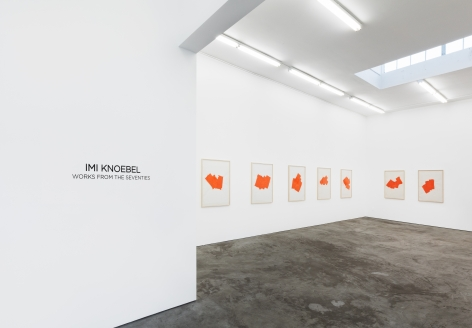 Installation view 5 of Imi Knoebel: Works from the Seventies (November 9-December 21, 2019) at Nino Mier Gallery, Los Angeles