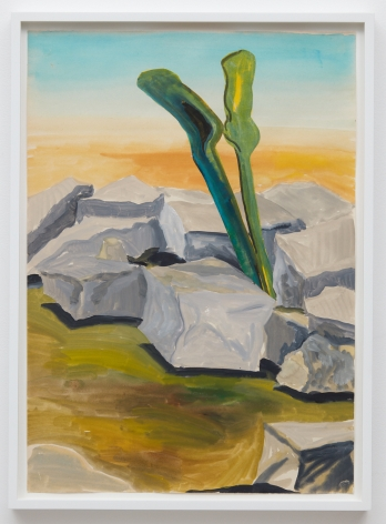 Tomasz Kowalski, Untitled, 2018. Watercolor on paper, 24 x 17 in, 61 x 43.2 cm (TKO18.014)
