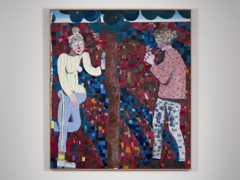Pieter Jennes Is een vlieg zonder vleugels een mier? , 2021 Oil on canvas 66 7/8 x 59 1/8 in 170 x 150 cm (PJE21.010)
