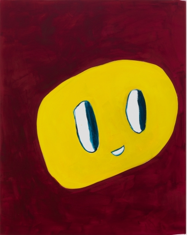 André Butzer, Untitled (5 Year Show), 2020. Acrylic on canvas, 77 1/2 x 61 in, 196.8 x 154.9 cm (AB20.022)