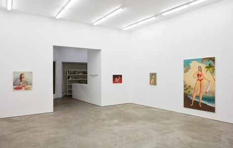 Installation view 3 of Jansson Stegner: New Paintings (January 20-March 3, 2018) at Nino Mier Gallery, Los Angeles