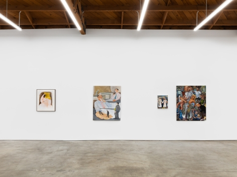 Installation shot 1 of Five Year Anniversay Show (June 27–August 31, 2020). Nino Mier Gallery, Los Angeles, CA