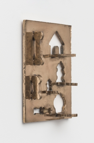 Zak Kitnick The Dog Years (R & M Industries 1947 Dog Bone Cookie Cutters, Set of 7), 2020 Bronze 10 x 14 in 25.4 x 35.6 cm (ZKI20.007)
