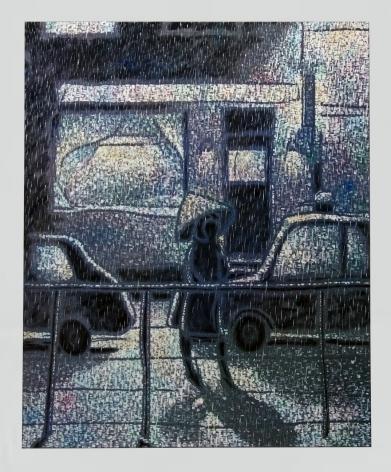 Maximilian Kirmse, H.P., 2018, Oil on linen, 63 x 51 1/8 in (160 x 130 cm), MK18.005
