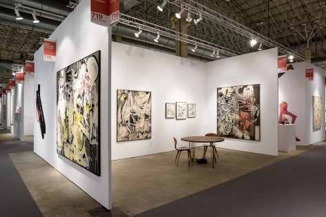 EXPO Chicago 2015, Installation view; Wide booth view