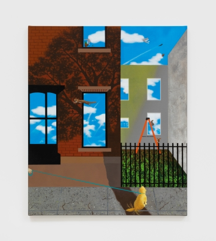 Soyeon Shin Dekalb Avenue, 2019 Acrylic on canvas 20 x 24 in 50.8 x 61 cm (SSH20.002)