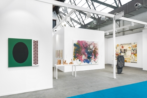 Art Brussels 2019, Exterior installation view, looking right