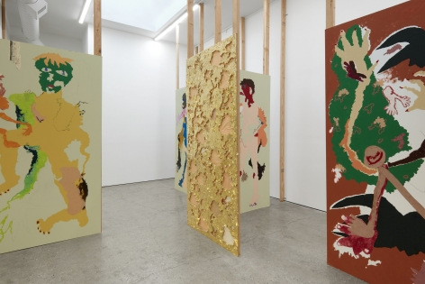 Installation View of Cindy Phenix: Particles of Abnormality (October 17–November 14, 2020). Nino Mier Gallery, Los Angeles, CA 8