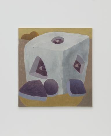 Ginny Casey, Box, 2015, oil on canvas, 43 x 40 in (109.22 x 101.6 cm), GC15.003