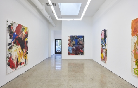 Installation view 3 of Anke Weyer: Gravity Idiot (March 5-April 16, 2016) at Nino Mier Gallery, Los Angeles