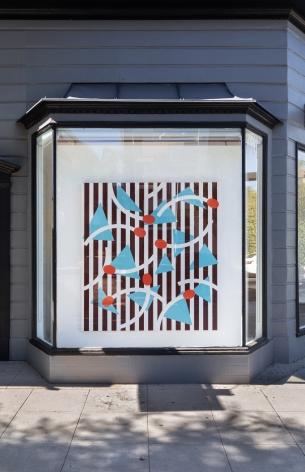 Installation view of Thomas Wachholz | David Renggli -Cha Cha Cha