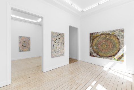 Installation View of Mindy Shapero, Lost in Space (April 22–June 6, 2021) Nino Mier Gallery, Brussels, BE