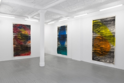 Installation view, Kamau Amu Patton, Callicoon Fine Arts, New York, NY, 2015
