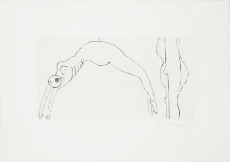 Louise Bourgeois Arched Figure, 1993