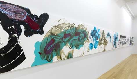Installation ofNew Paintings, April 21 – June 25, 2016