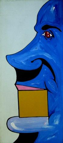 Flex, 1969 acrylic and enamel on canvas