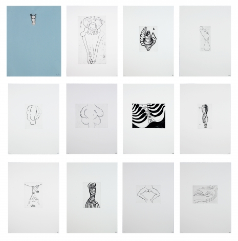Anatomy, 1989-90 Portfolio of 11 etchings and drypoints with 1 multiple