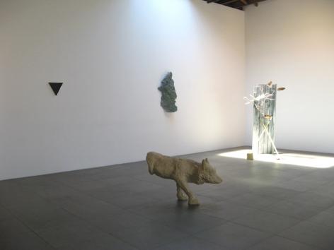 Stubborn Materials Group Exhibition Peter Blum Chelsea 2007