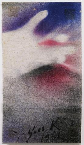 Yves Klein Anthropometrie - main, 1961 (ANT Sn2)