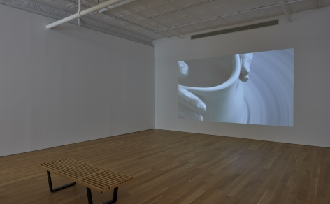 Shaping, 2019 video projection with sound