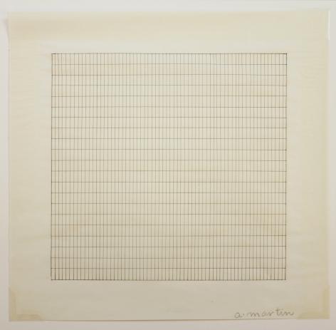 Agnes Martin Untitled No. 1, 1990