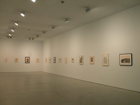 Installation ofWorks on Paper from the 1940's and 1950's, September 5– November 11, 2006